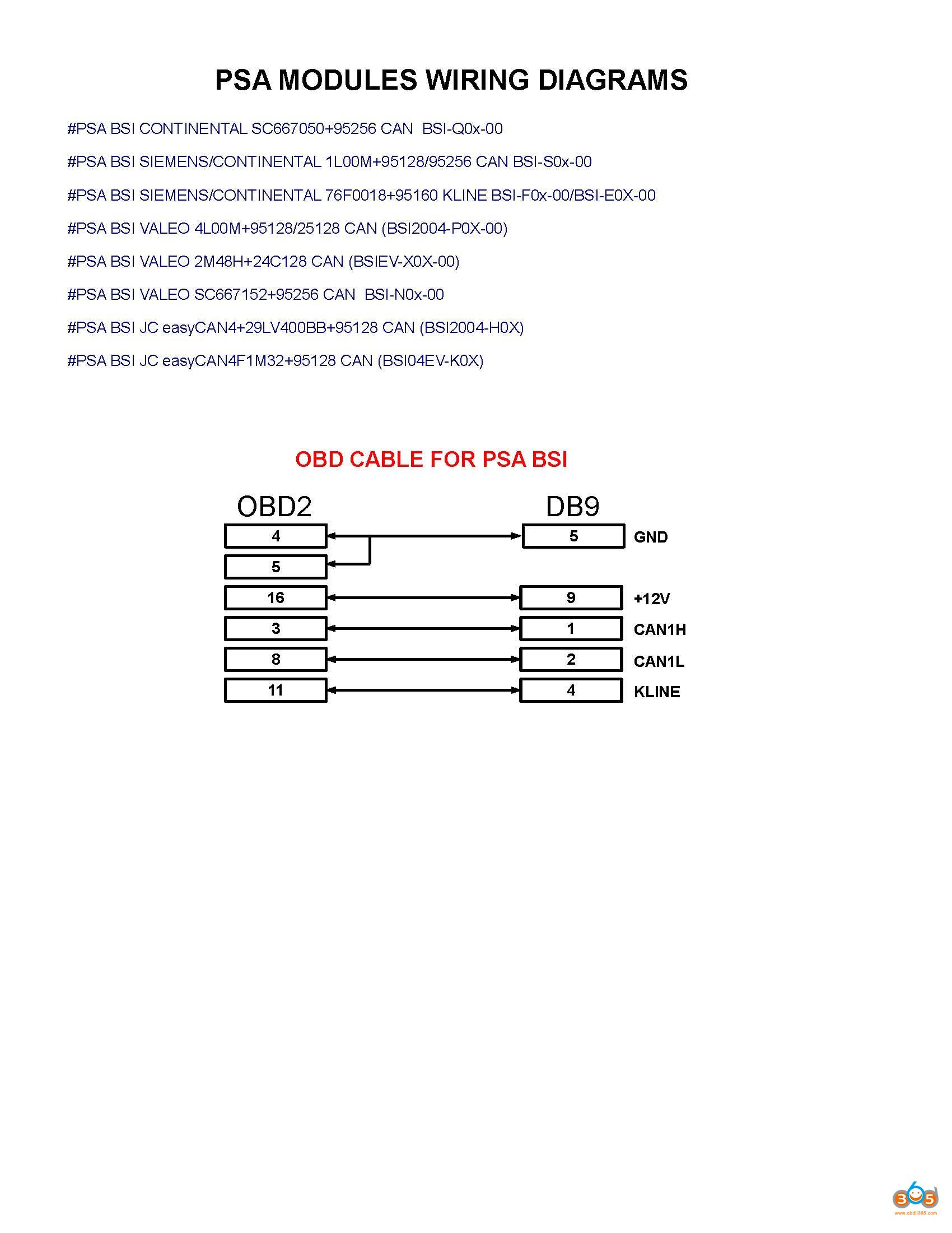 Fvdi Clone Citroen C4 Bsi 06