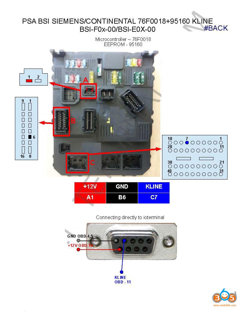 Fvdi Clone Citroen C4 Bsi 09