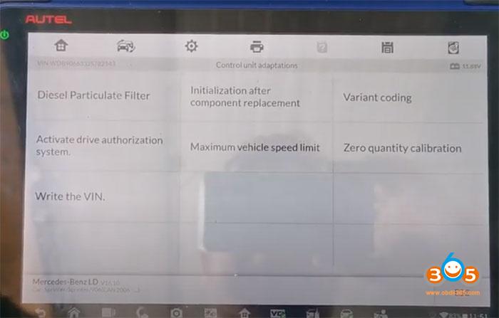 Im608 Sprinter W906 Change Speed Limit 2