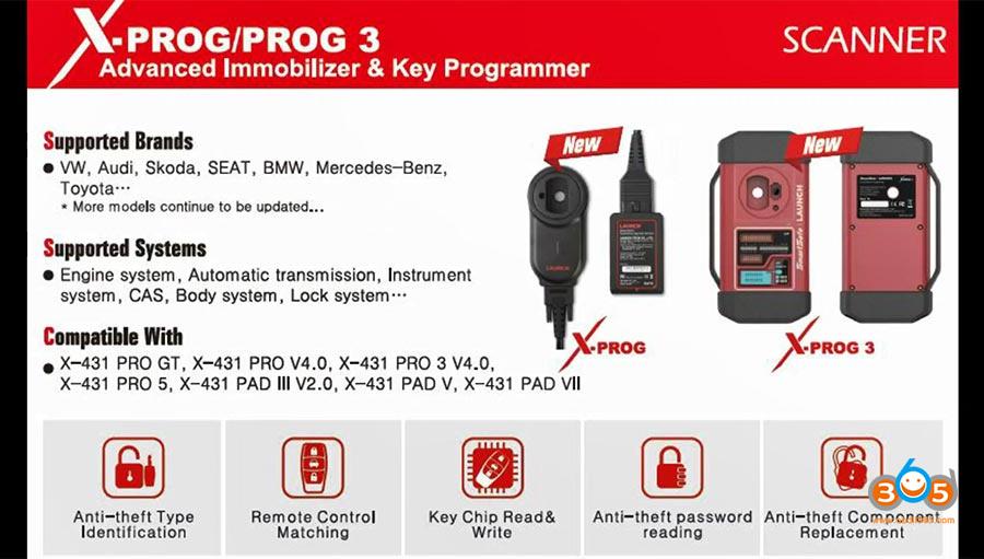 Launch Pad V X Prog3 Audi A5 Tcu Clone 001