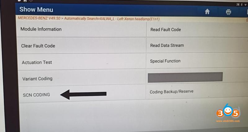 Launch X431 Pad Vii Scn Coding 2