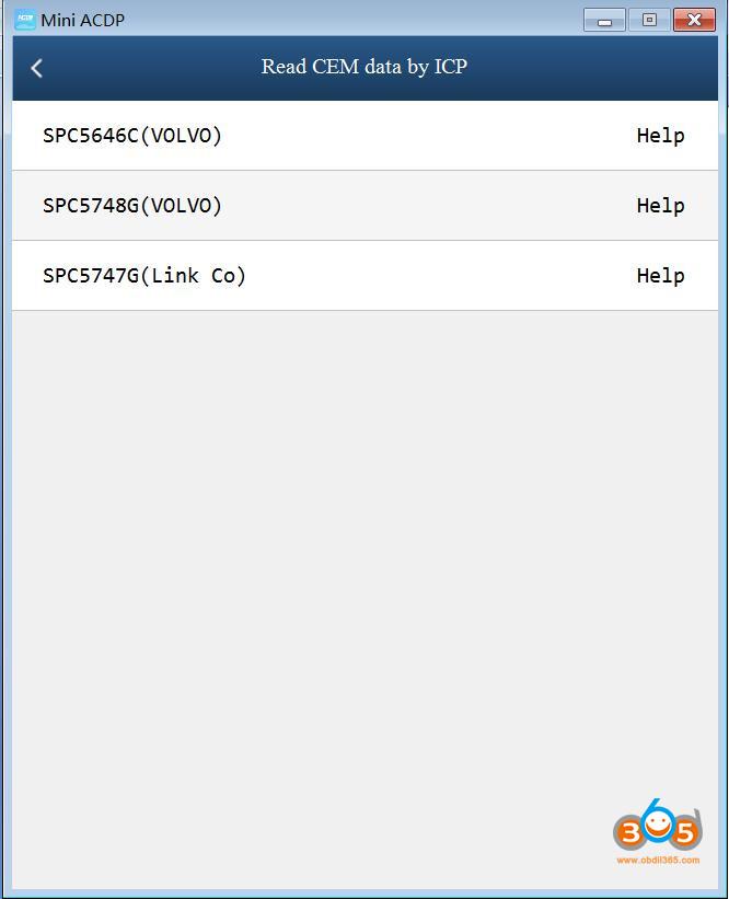 Yanhua Mini Acdp New Volvo 2020 Key Programming 05