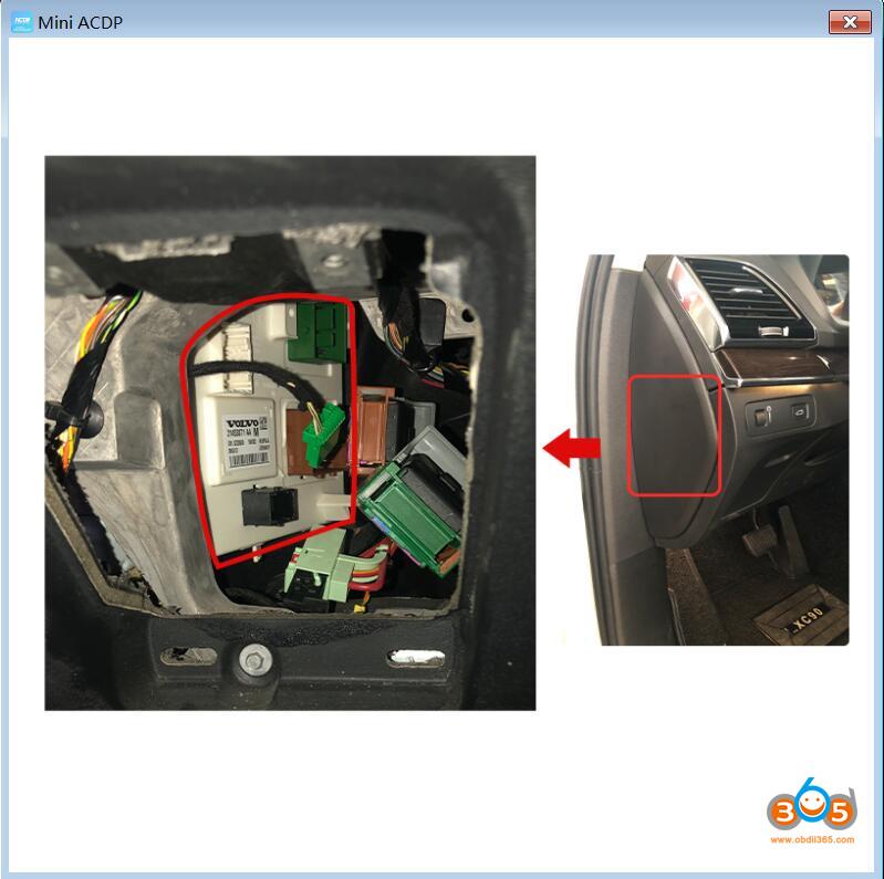 Yanhua Mini Acdp New Volvo 2020 Key Programming 12