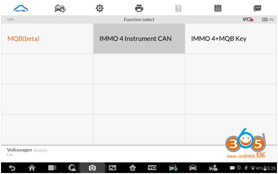 Autel Im608 Advanced Mode 3