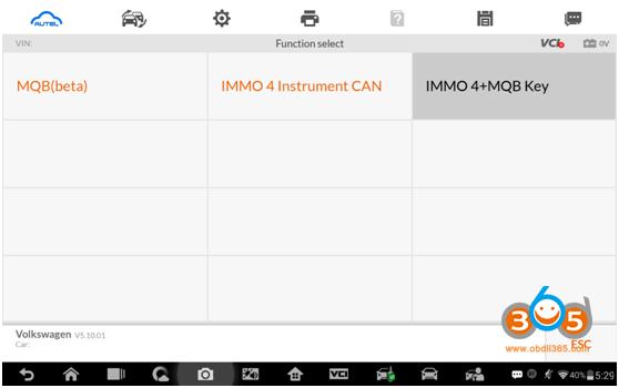 Autel Im608 Advanced Mode 5