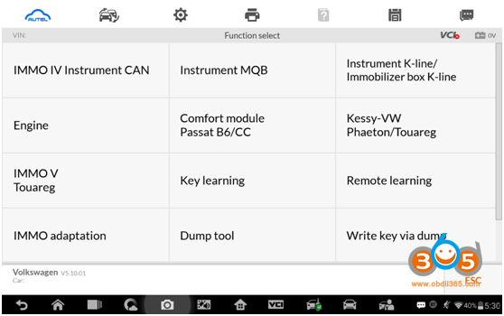 Autel Im608 Advanced Mode 9