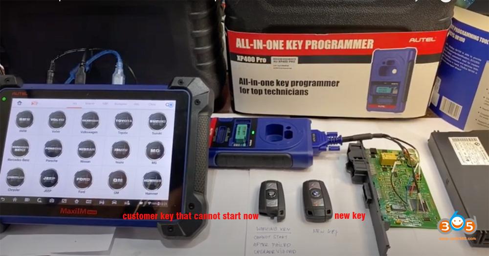 Autel Im608 Repair Bmw Cas3 1