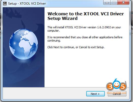 Install X Vci 1
