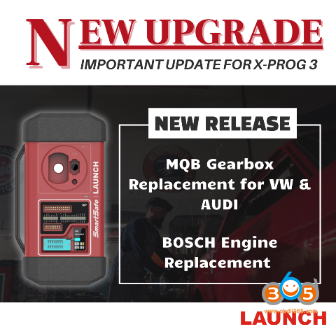 Launch Mqb Gearbox Replacement