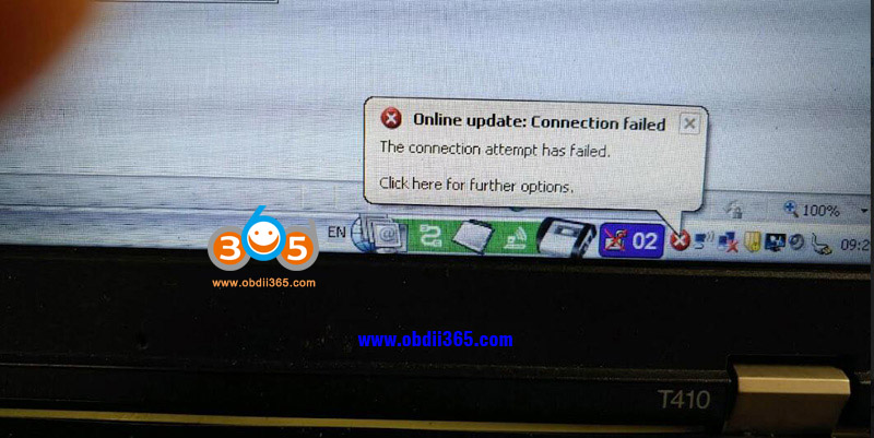 Mb Sd C4 Xentry Online Connection Failed 1