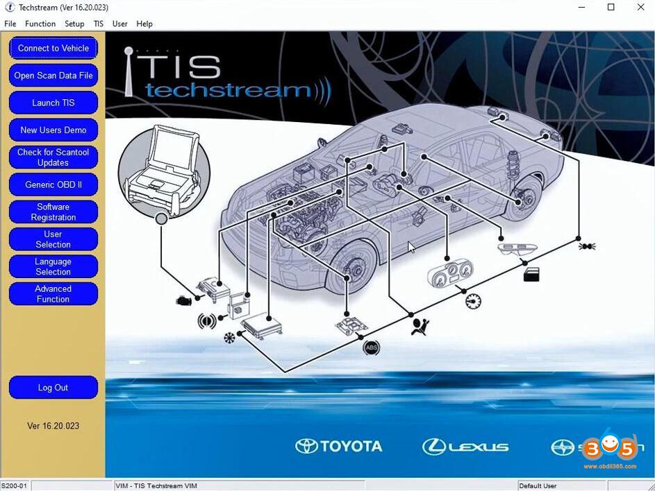 Toyota Techstream V16 20 023 Installation 01