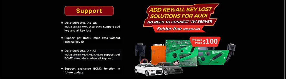 Xhorse Audi Bcm2 Adapter