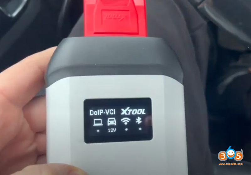 Xtool X Vci Connection 1