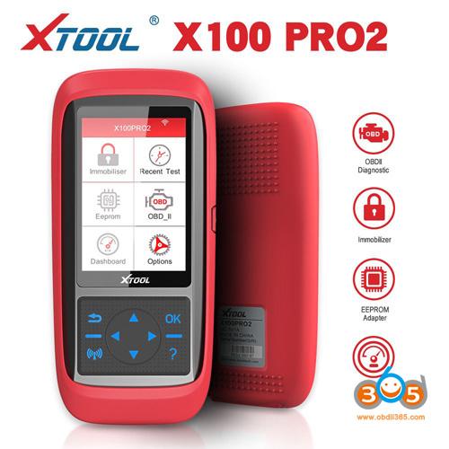 Xtool X100 Pro2 Auto Key Programmer 1