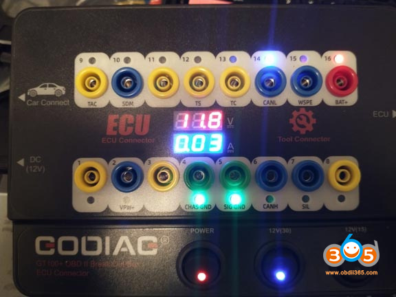 04 Godiag Gt100 Pro Connection Current