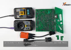 Audi Bcm2 Adapter With Vvdi 2 Vvdi Prog 01