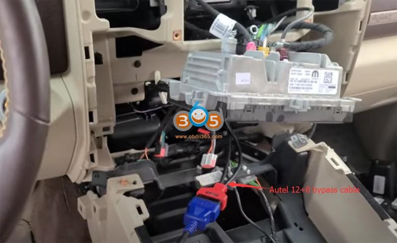 Autel Im608 2018 Dodge Ram 3500 Key Fob 3