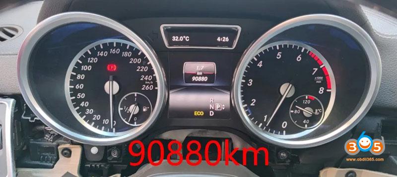 Cgdi Mb Change Benz X166 Fbs4 Mileage 20