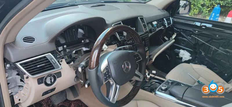 Cgdi Mb Change Benz X166 Fbs4 Mileage 3