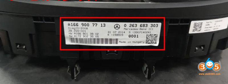 Cgdi Mb Change Benz X166 Fbs4 Mileage 5