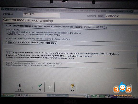 Das Update Mercedes 221.176 Navi 01