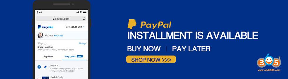 Paypal Installment