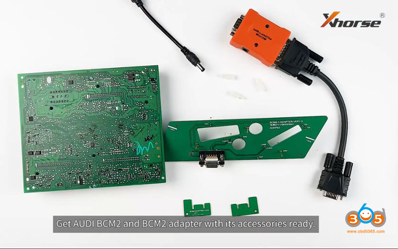Use Audi Bcm2 Adapter With Xhorse Key Tool Plus 1