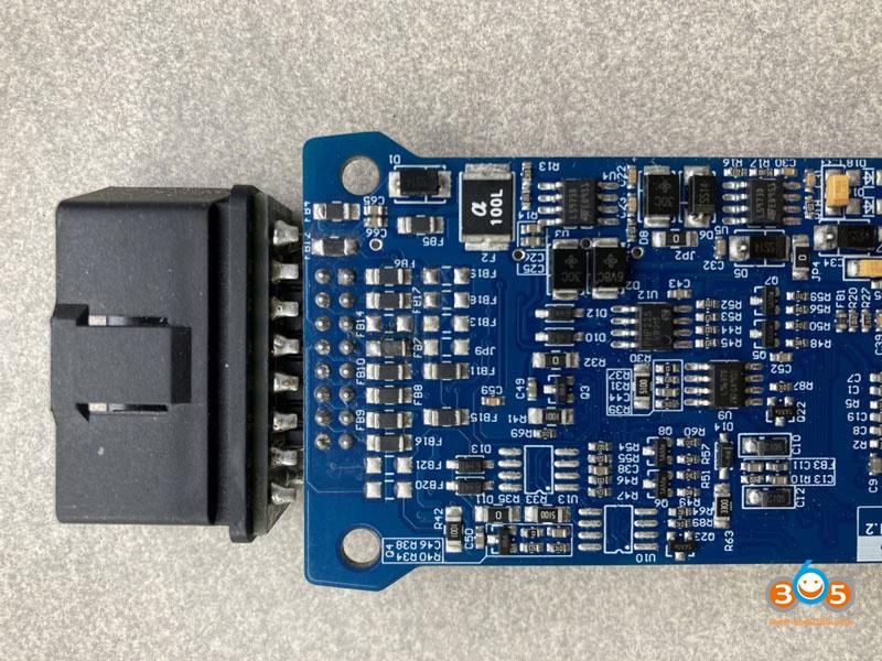 Vxdiag Vcx Nano Pcb 9pin