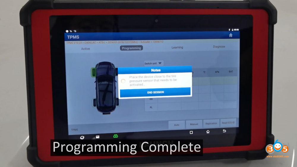 X431 Tsgun Reprogram Launch Tpms Sensor 09
